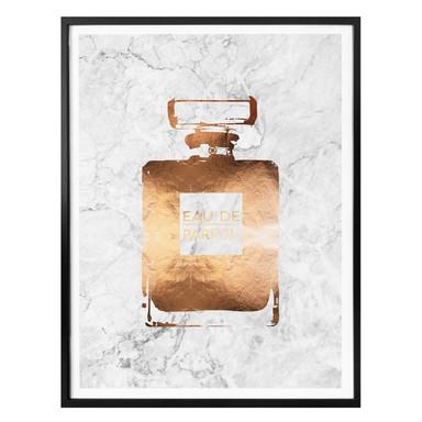 Poster Kupfer - Eau de Parfum