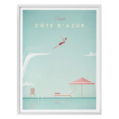 Poster Rivers - Côte d'Azur