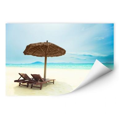 Wallprint Holiday in Paradise