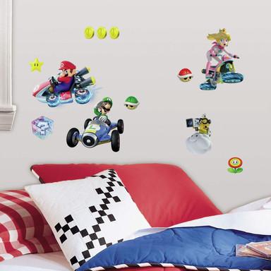 Wandsticker Super Mario - Mario Kart 8 - 44-teilig - Bild 1