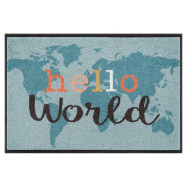 Wash&Dry Fussmatte Hello World 50x75cm
