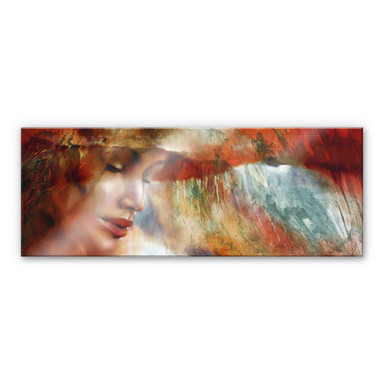 Acrylglasbild Schmucker - Ricarda - Panorama