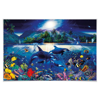 Giant Art® XXL-Poster Majestic Kingdom - 175x115cm
