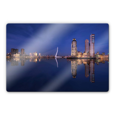 Glasbild Pablo - Rotterdam