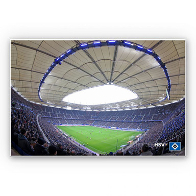 Hartschaumbild HSV Arena