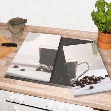 Herdabdeckplatte - Kaffeepause