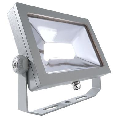 LED Wand- und Deckenstrahler Flood Smd I in Silber und Transparent 30W 2650lm IP65