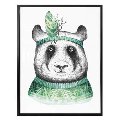 Poster Kvilis - Hippie Panda