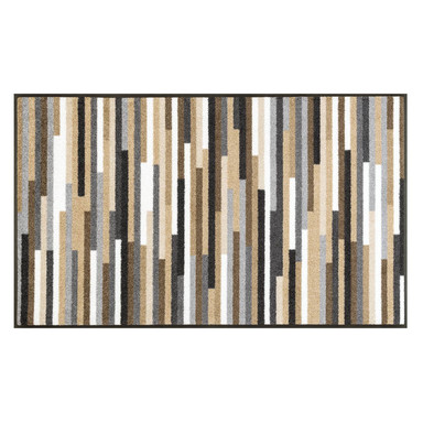 Wash&Dry Decor Fussmatte Mikado Stripes nature