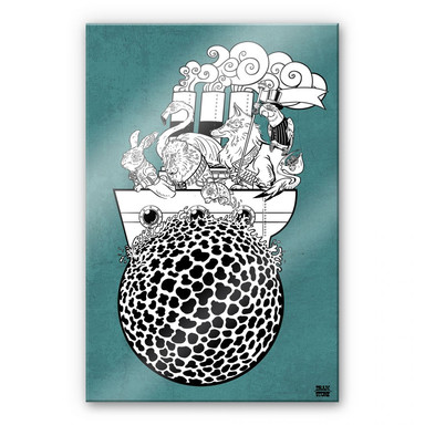 Acrylglasbild Drawstore - Boattrip