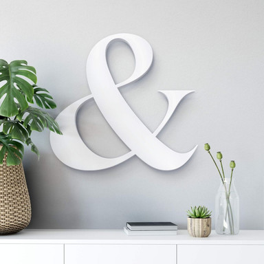 Dekobuchstaben 3D Et-Zeichen