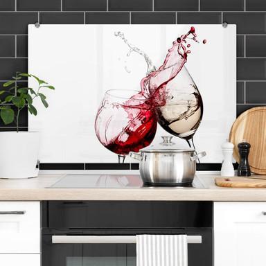 Spritzschutz Weingläser