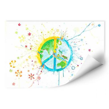 Wallprint Buttafly - Peace