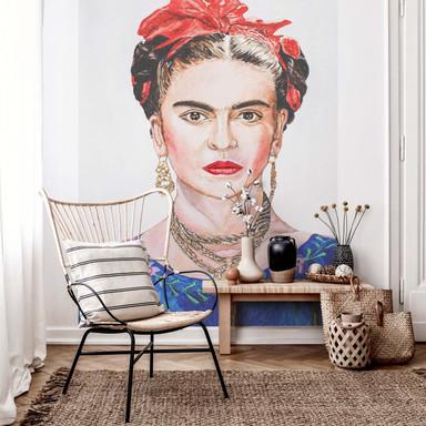 Fototapete Toetzke - Frida Kahlo - 192x260cm - Bild 1