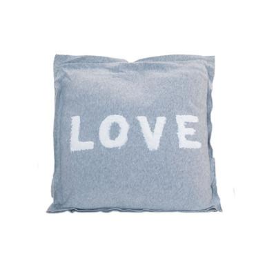 Kissen Love (grau)
