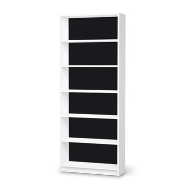 Klebefolie IKEA Billy Regal 6 Fächer - Schwarz- Bild 1