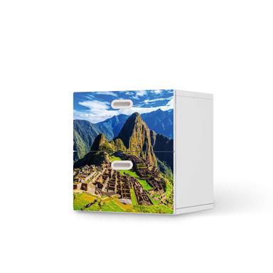 Klebefolie IKEA Stuva / Fritids Kommode - 2 Schubladen - Machu Picchu- Bild 1