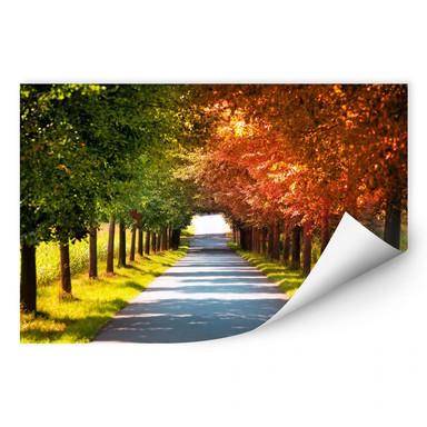Wallprint Herbst