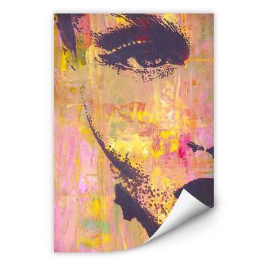 Wallprint Popart-Portrait