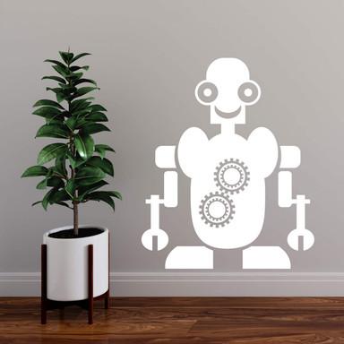 Wandtattoo Roboter Maurice