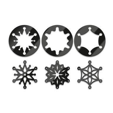 Acryldeko Sterne (6-teilig)