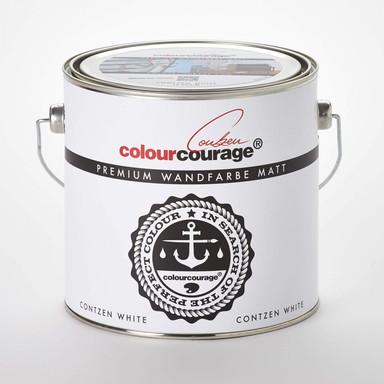 colourcourage® Premium Wandfarbe matt Contzen White