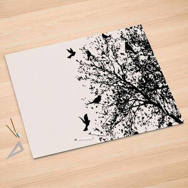 Folienbogen (150x100cm) - Tree and Birds 2