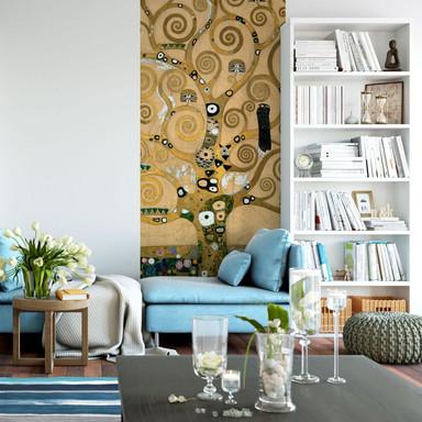 Fototapete Klimt - Der Lebensbaum - 96x260cm - Bild 1