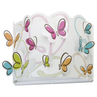 Kinderzimmer Wandleuchte Butterfly E27