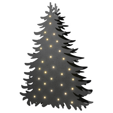 LED Stehleuchte Blacky in Schwarz 1.8W 60lm