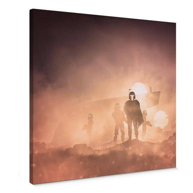 Leinwandbild Del Grosso - Tatooine - Quadratisch