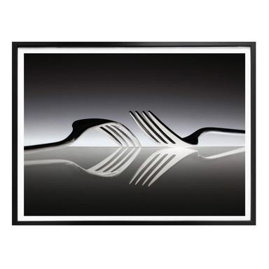 Poster De Kogel - Silverware Reflection