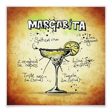 Poster Margarita - Rezept