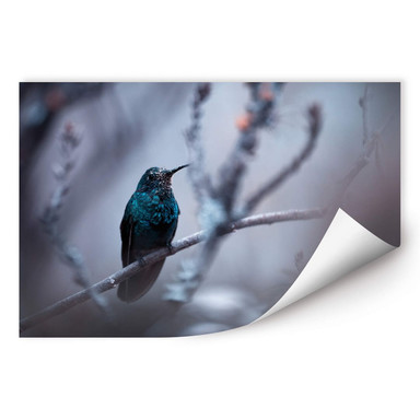 Wallprint Bravien - Electrical Blue