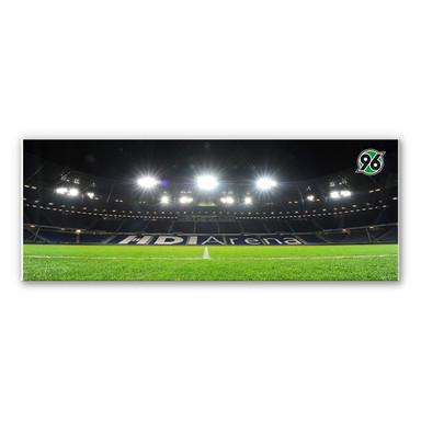 Wandbild Hannover 96 - HDI-Arena Nacht - Panorama