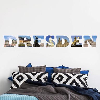 Wandsticker Impressionen Dresden