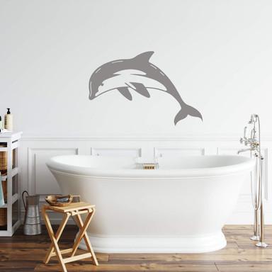 Wandtattoo Delphin 1
