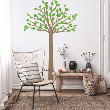 Wandtattoo Hoher Baum 2-farbig