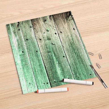 Folienbogen (30x30cm) - Plaue Planken