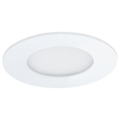 LED Einbauleuchte, weiss-matt, warmweiss, 3000K, 85mm