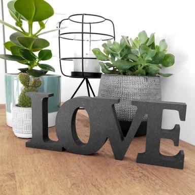 MDF-Holzbuchstaben Love 2