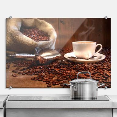 Spritzschutz Kaffeegenuss