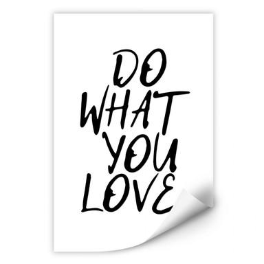 Wallprint Do what you love