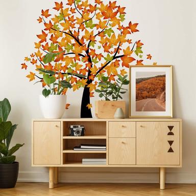 Wandsticker Baum Herbst 1