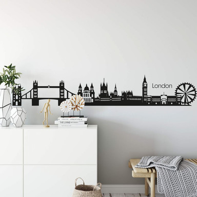 Wandtattoo London Skyline 2
