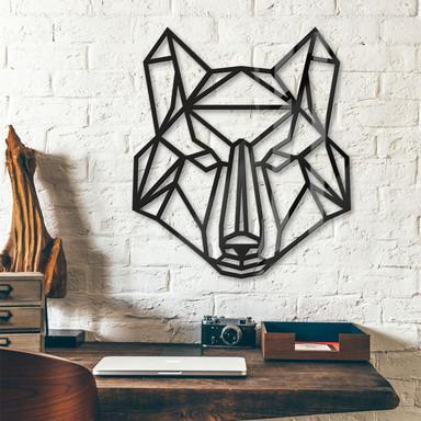 Acryldeko Origami Wolf