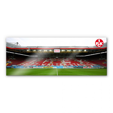 Acrylglasbild 1. FC Kaiserslautern Stadion Tribüne - Panorama