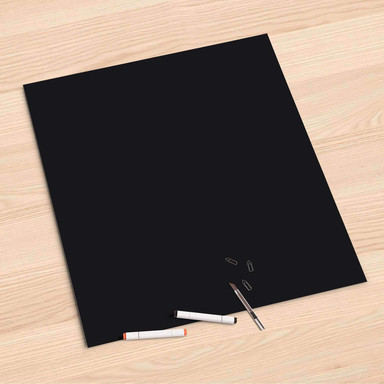 Folienbogen (60x60cm) - Schwarz
