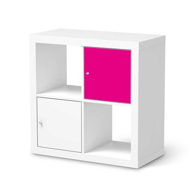Klebefolie IKEA Expedit Regal Tür einzeln - Pink Dark- Bild 1