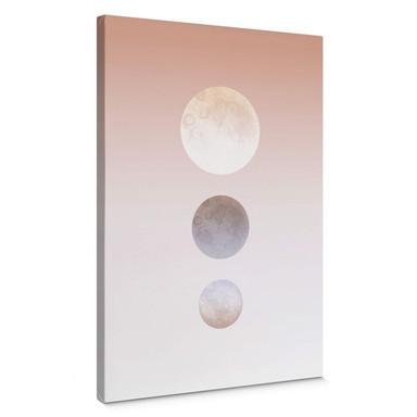 Leinwandbild Hariri - Moon Triplet